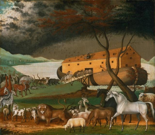 Edward_Hicks,_American_-_Noah's_Ark_-_Google_Art_Project