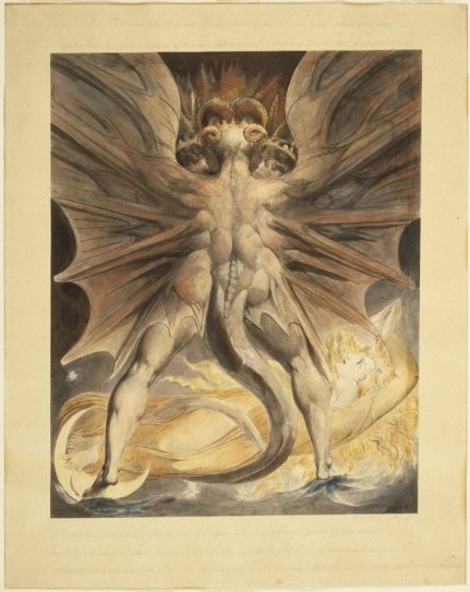 William Blake - Red Dragon