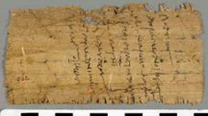 Oxyrhynchus Papyrus, P.Oxy VI 962 Sheep Contract (Fragment)