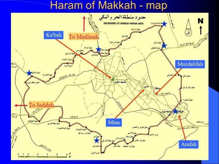 Al-Haram Map