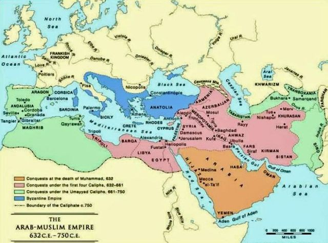 Sasanian Empire Map